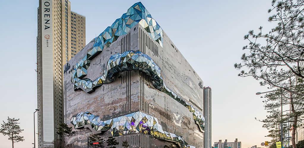 Una galleria en Corea del Sur con un diseño extraordinario