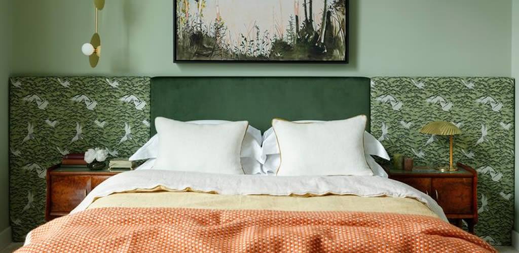 Las últimas tendencias para el cabecero de la cama