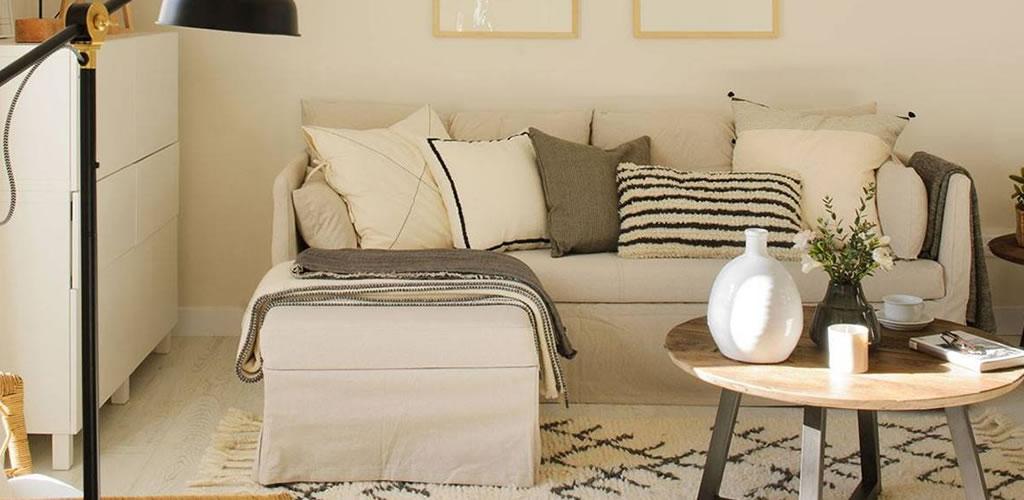 Salas pequeñas: 10 dilemas decorativos