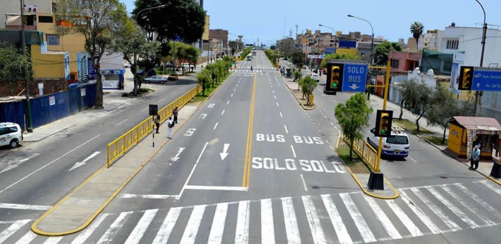 Proponen la avenida Brasil como ciclovía temporal para evitar contagios de COVID-19
