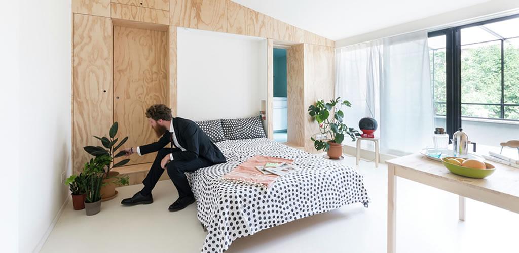 Cómo aprovechar espacios pequeños con camas plegables y corredizas