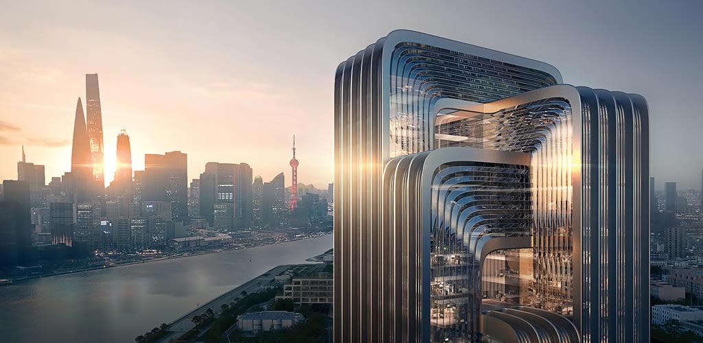 Zaha Hadid Architects diseña la sede de CECEP en Shanghai