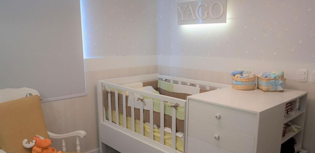 Cuarto de bebé, un espacio funcional y acogedor por Arq. Fernando Alvarez