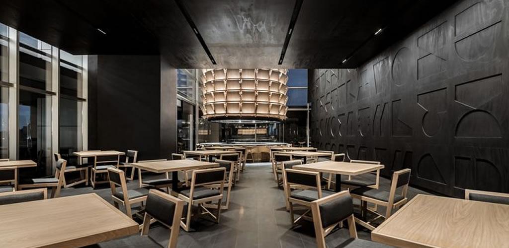 Un restaurante inspirado en las armaduras de los Samurais en México
