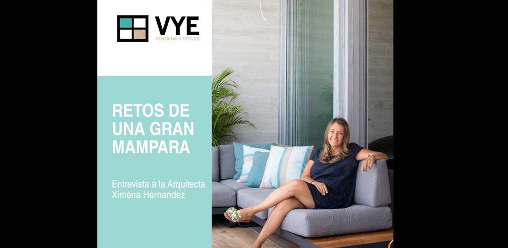 Ideas, retos y recuerdos con las arquitecta Ximena Hernández