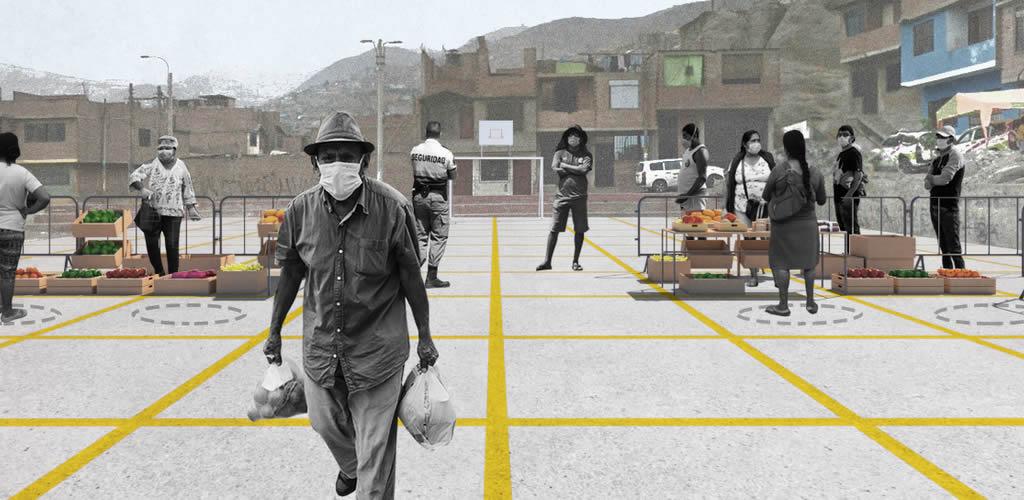 Micro-mercados barriales, una alternativa frente al COVID-19 en Lima
