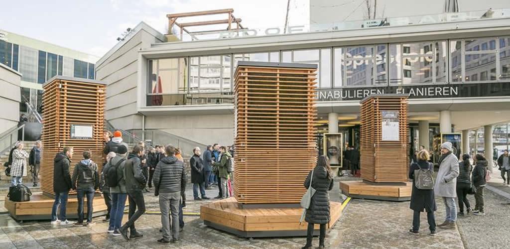 Árboles artificiales que limpiarán el aire de las ciudades