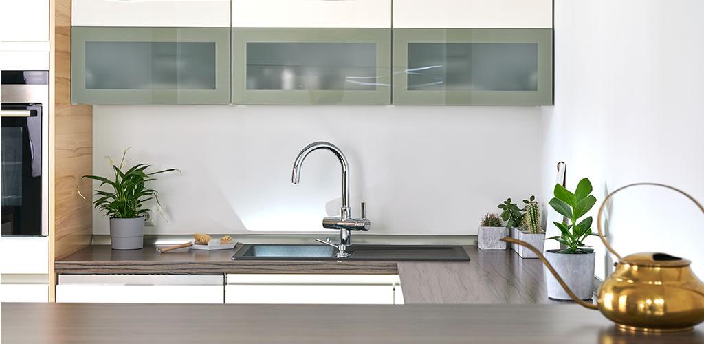 ¡Cocinas modernas en espacios pequeños!