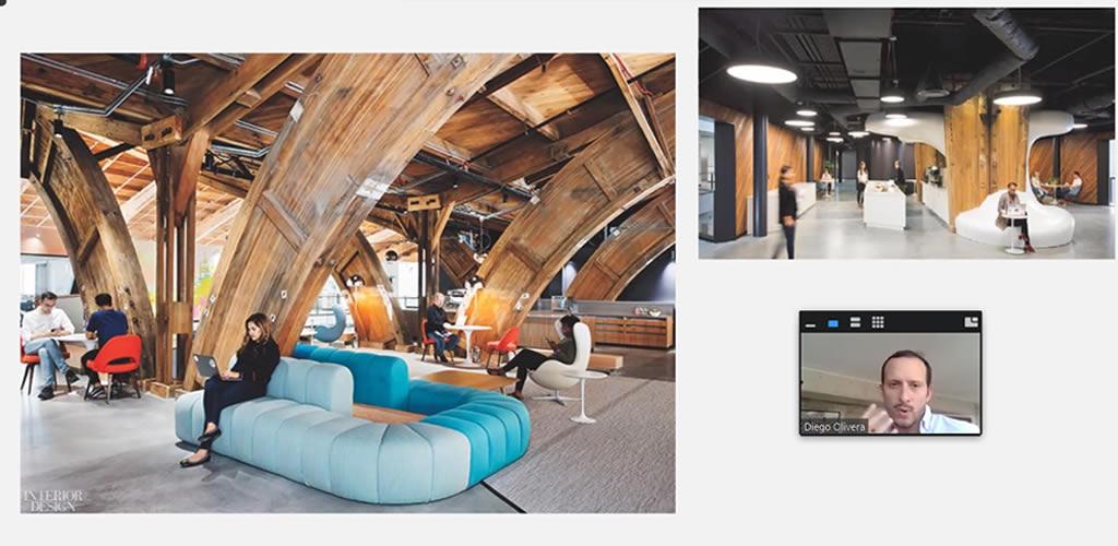 El curso de Diseño industrial en espacios residenciales y comerciales culminó con gran acogida del público
