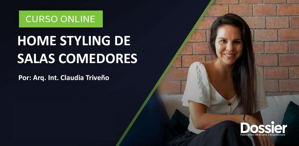 Decoración de salas comedores por la Arq. Int. Claudia Triveño