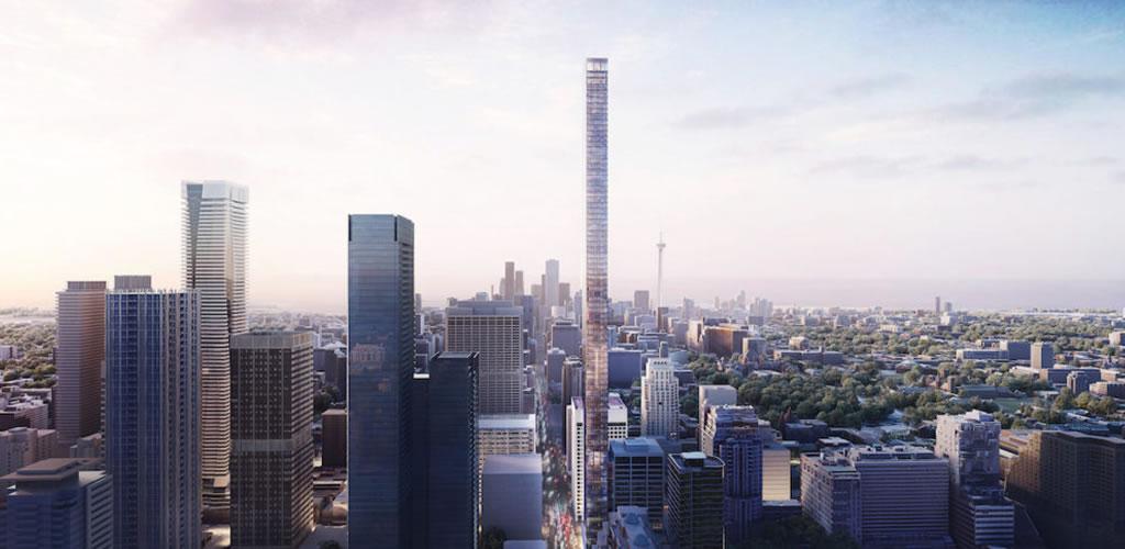 Diseñan el rascacielos más alto de Canadá