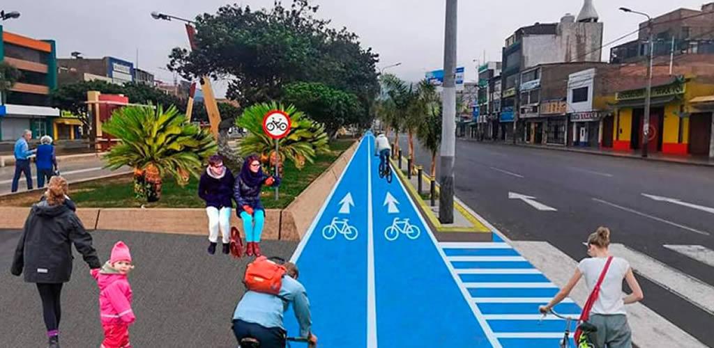 Chimbote implementará 14 kilómetros de ciclovía