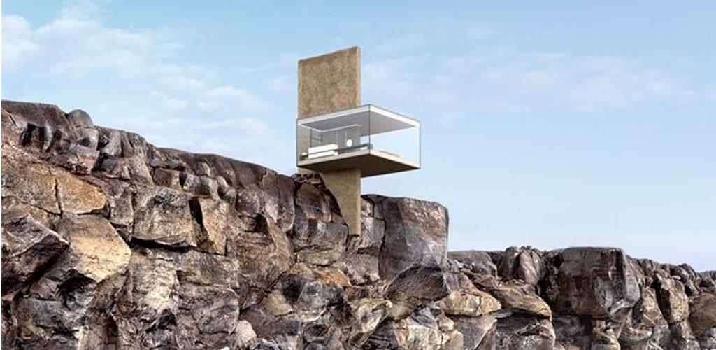 Una casa sostenible no apta si tienes vértigo