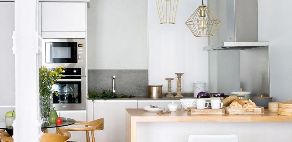 Descubre cómo integrar la cocina a la sala
