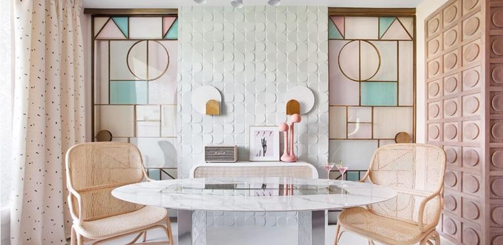 Los azulejos más allá de la cocina y baño