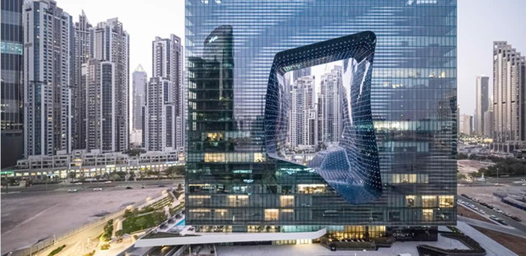 El único edificio en el que Zaha Hadid diseñó el interiorismo