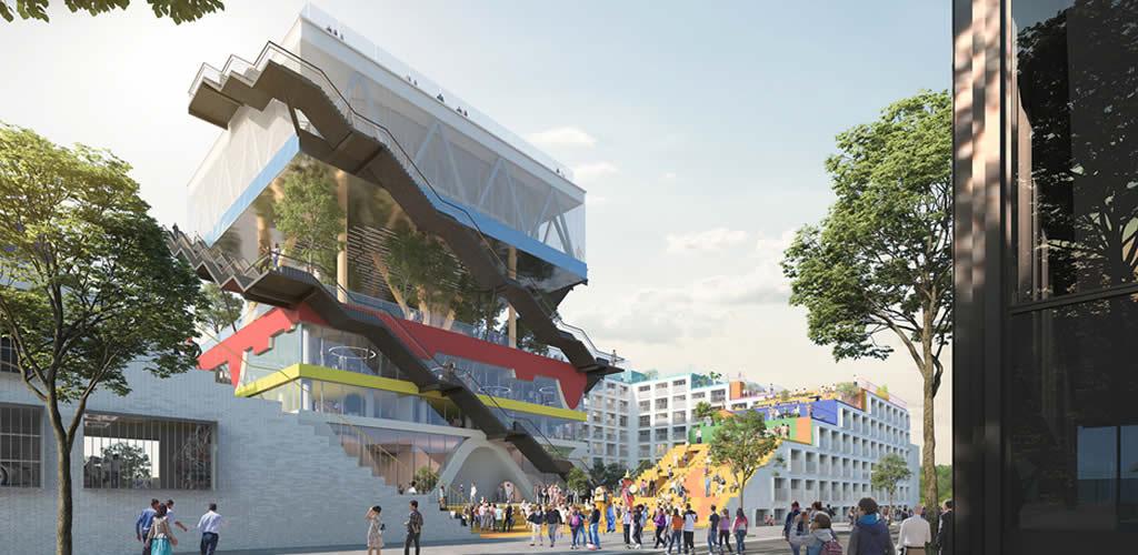 MVRDV transformará el icónico pabellón Expo 2000 en un complejo de co-working