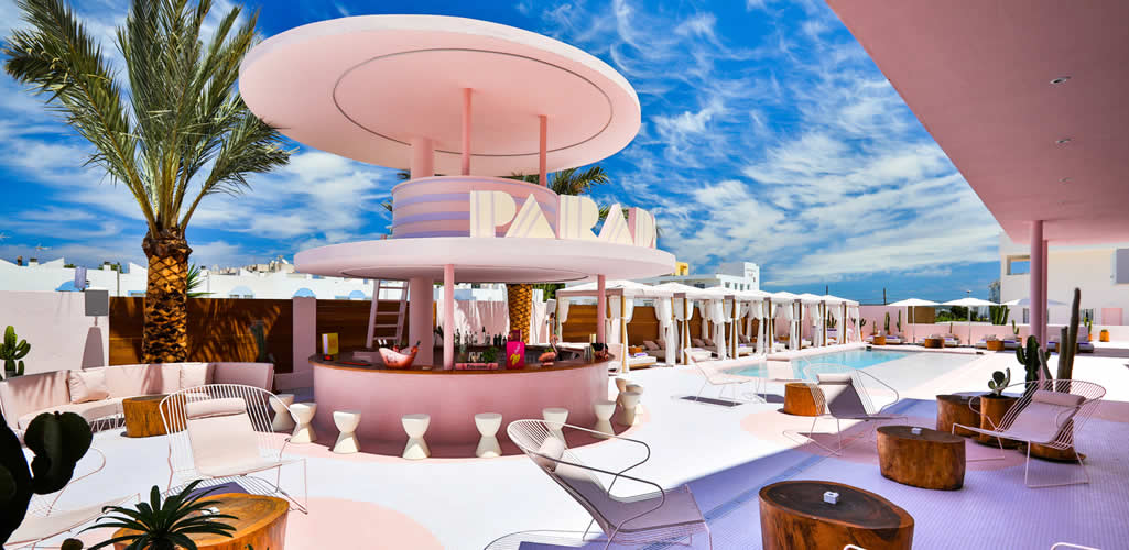 Art Hotel Paradiso Ibiza por IlmioDesign