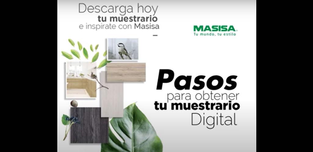 Nuevo muestrario digital de melaminas Masisa 2020