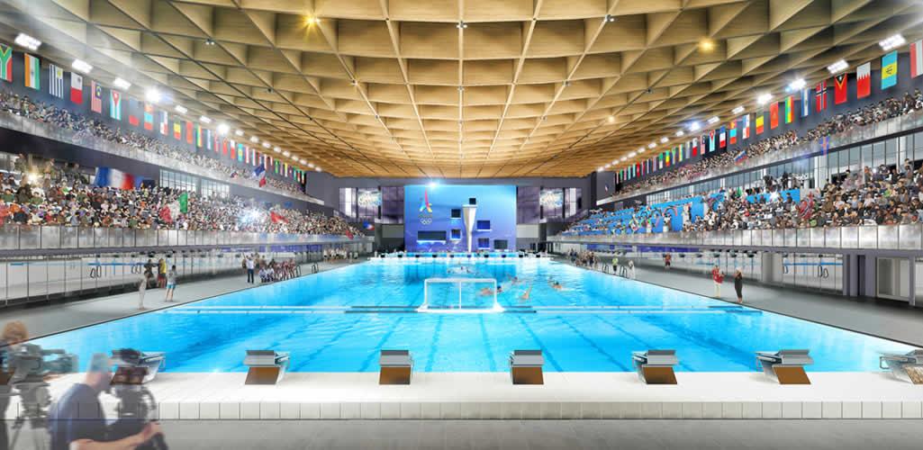 Centro Acuático para los Juegos Olímpicos de París 2024