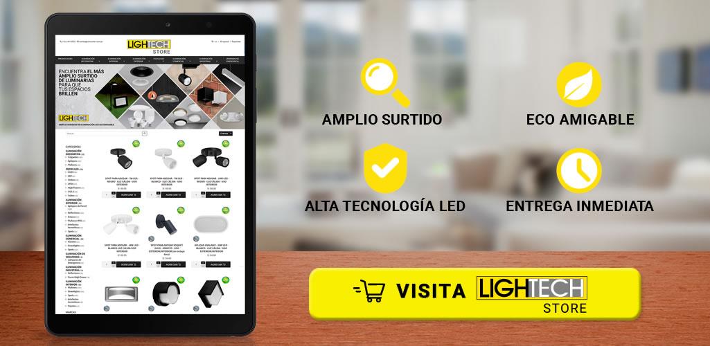 Lightech Store, la tienda online más completa en Iluminación LED