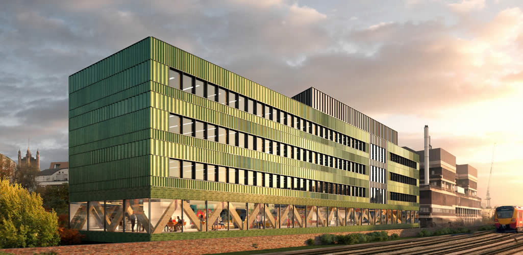Un nuevo edificio corporativo sin huella de carbono en Londres