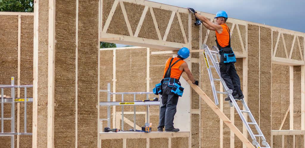 Construyendo muros eficientes con residuos de la agricultura