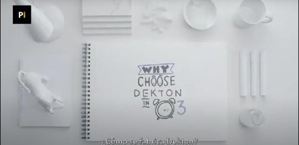Todo lo que tienes que saber de Dekton en 3 minutos