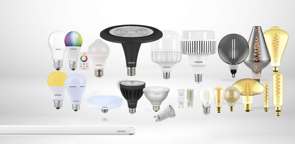 Lámparas Led Osram por Ledvance