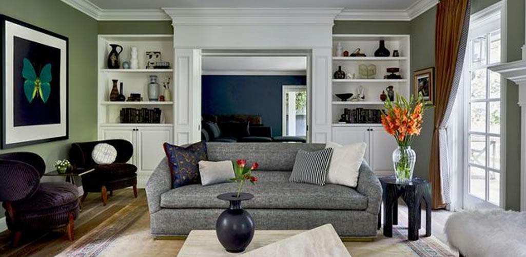 La nueva tendencia para la sala: El color verde