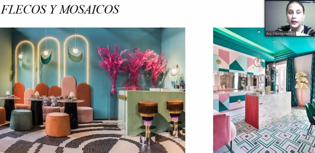 """Con gran acogida culminó el curso online  """"Interior design concepts: Espacios Sociales"""""""