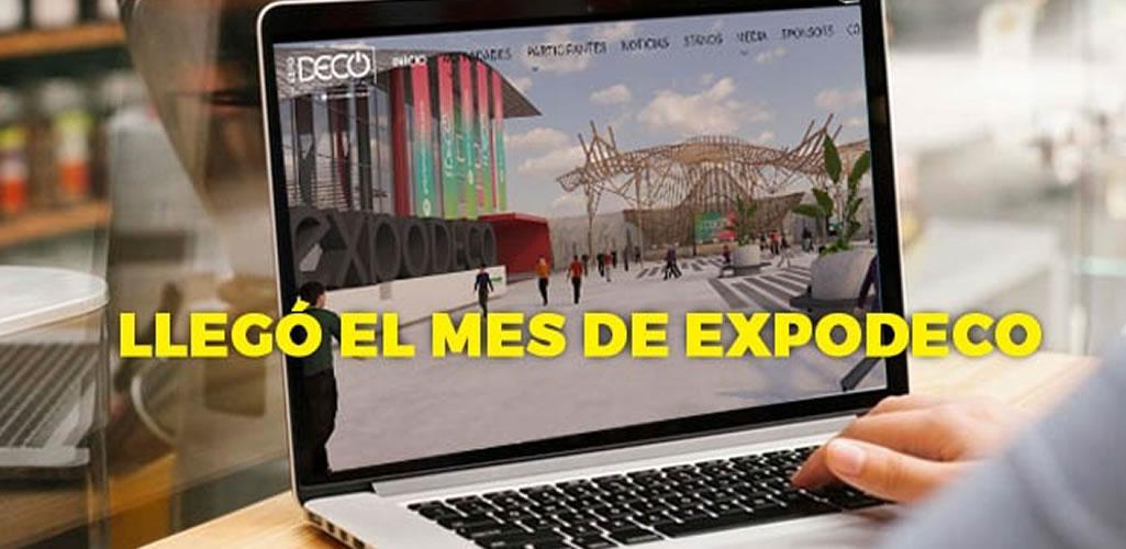Setiembre, mes de #Expodecovirtual2020