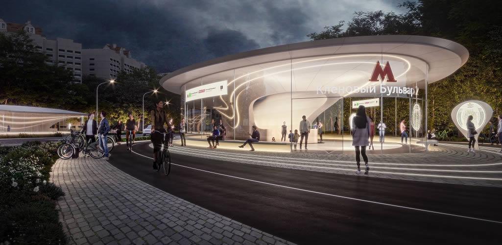 Zaha Hadid Architects y ASADOV ganan el Concurso Internacional del Metro de Moscú