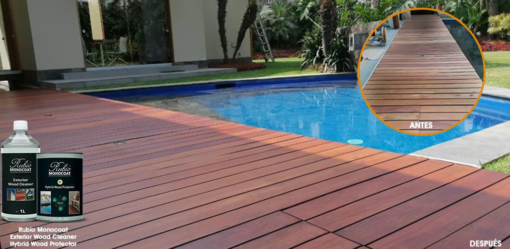 Rubio Monocoat: ¡La solución para tu madera exterior!