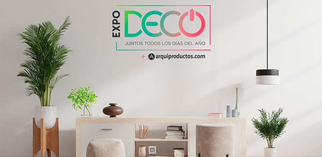 Arquiproductos, la plataforma oficial de #Expodecovirtual2020