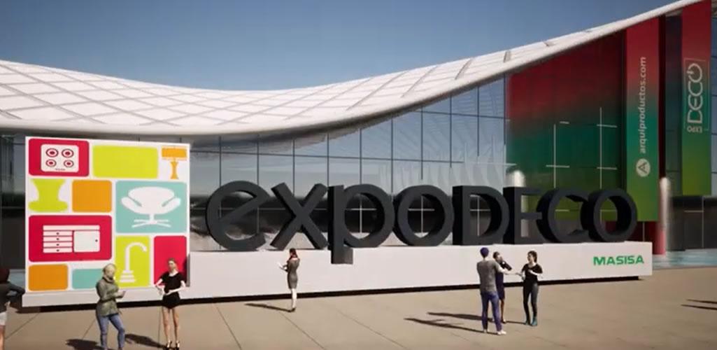 EXPODECO VIRTUAL 2020 - Sé parte del VIII Salón internacional de diseño y arquitectura.