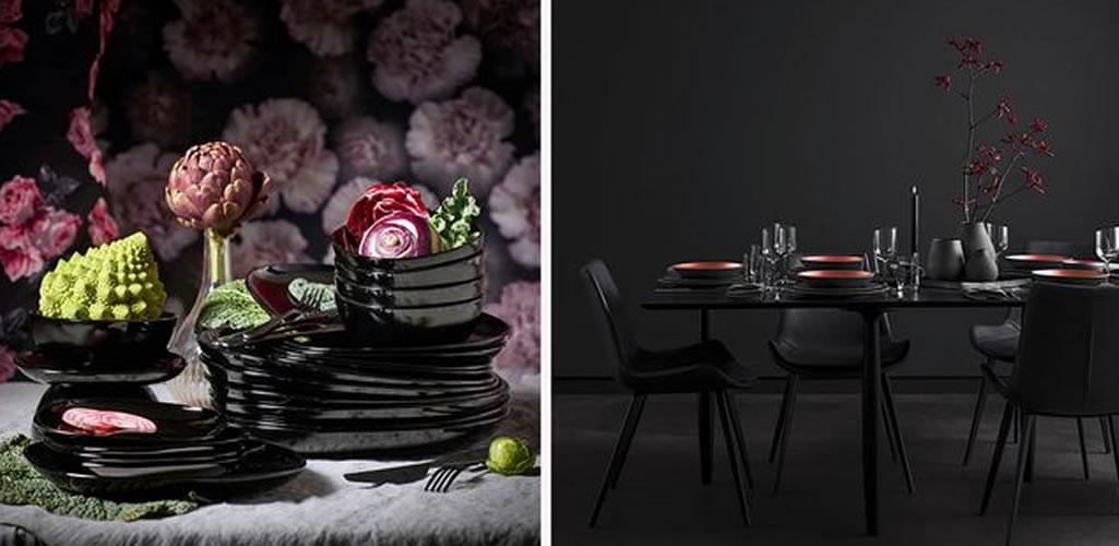 La última tendencia: Poner mesas negras