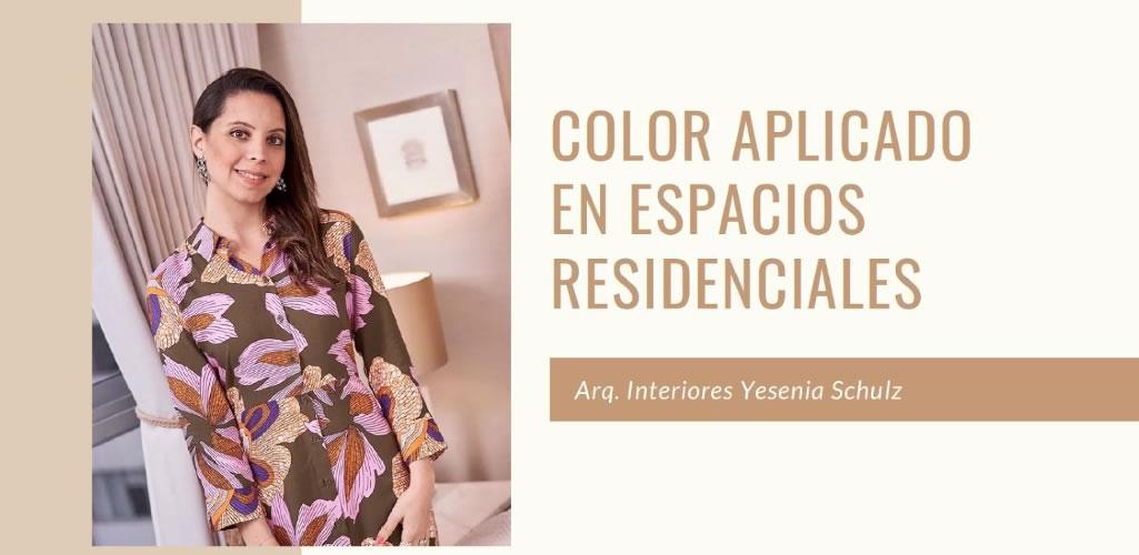 Gran acogida en el curso online : Color aplicado en espacios residenciales