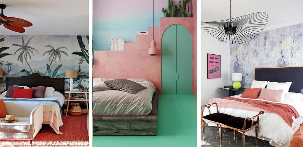 Las ideas más innovadoras para la pared del dormitorio