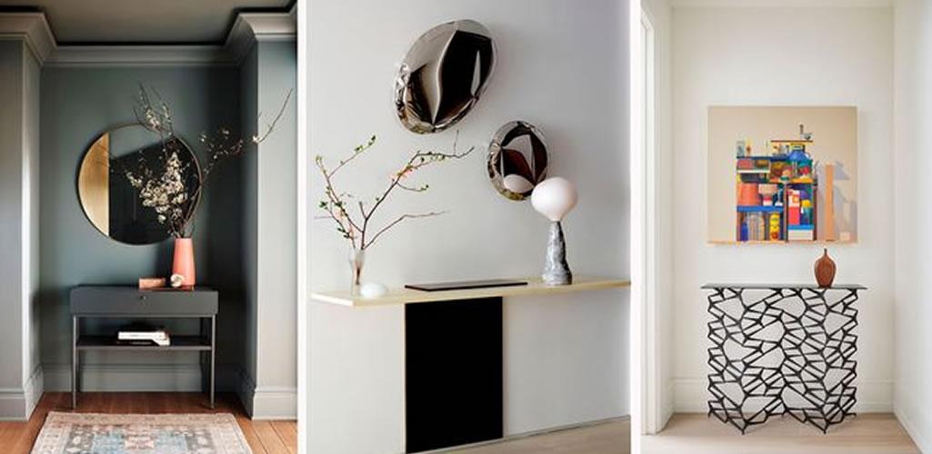 Ideas geniales para decorar y aprovechar tu recibidor
