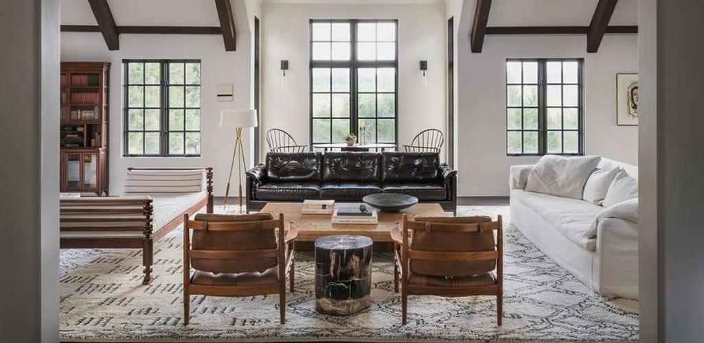 Salas de estilo rústico: perfectos para crear ambientes cálidos