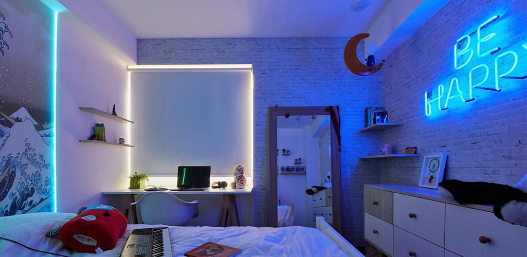 Un dormitorio para una adolescente por el Arq. Fernando Alvarez