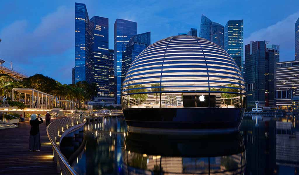 Apertura de Apple Marina Bay Sands en Singapur