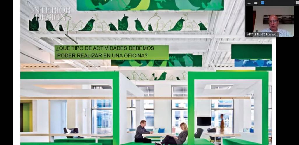 Dossier presentó el curso online: Diseño de oficinas, tendencias en la nueva normalidad