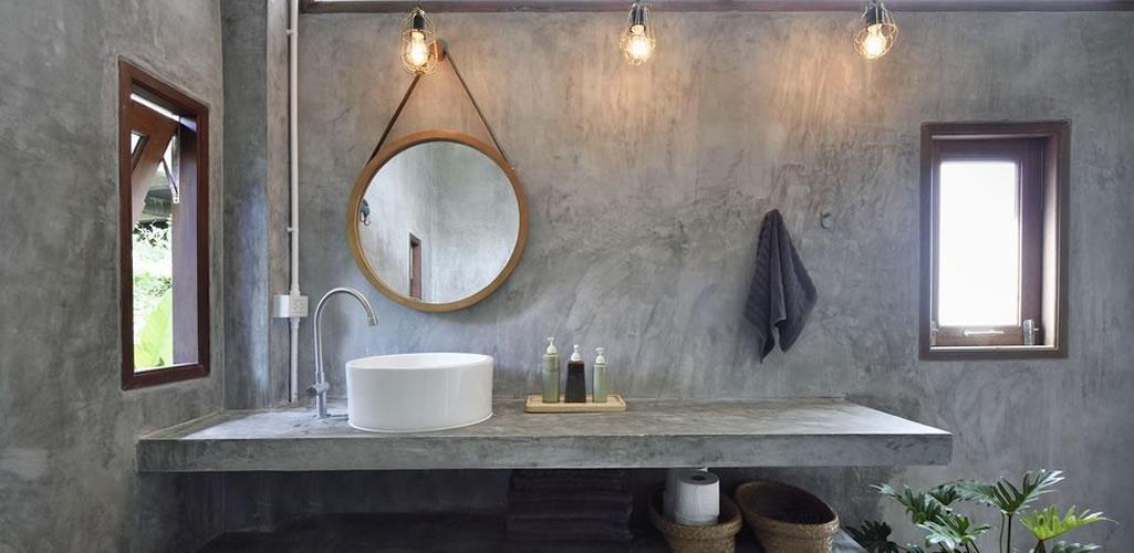 Inspiración: baños de estilo rústico
