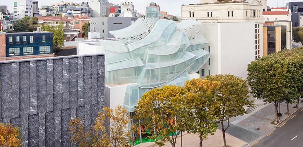 La nueva tienda de Louis Vuitton en Seúl
