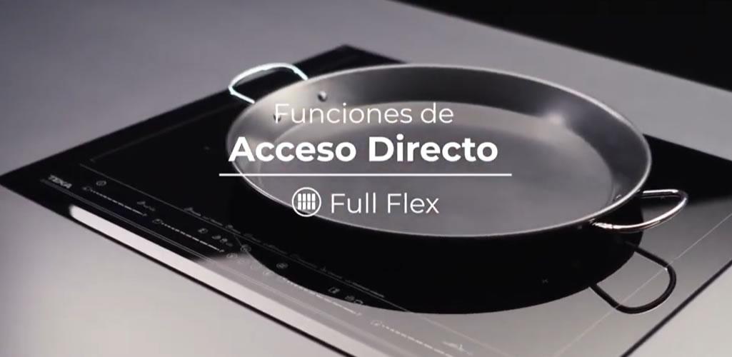 Función de Acceso Directo para placas Teka Full Flex