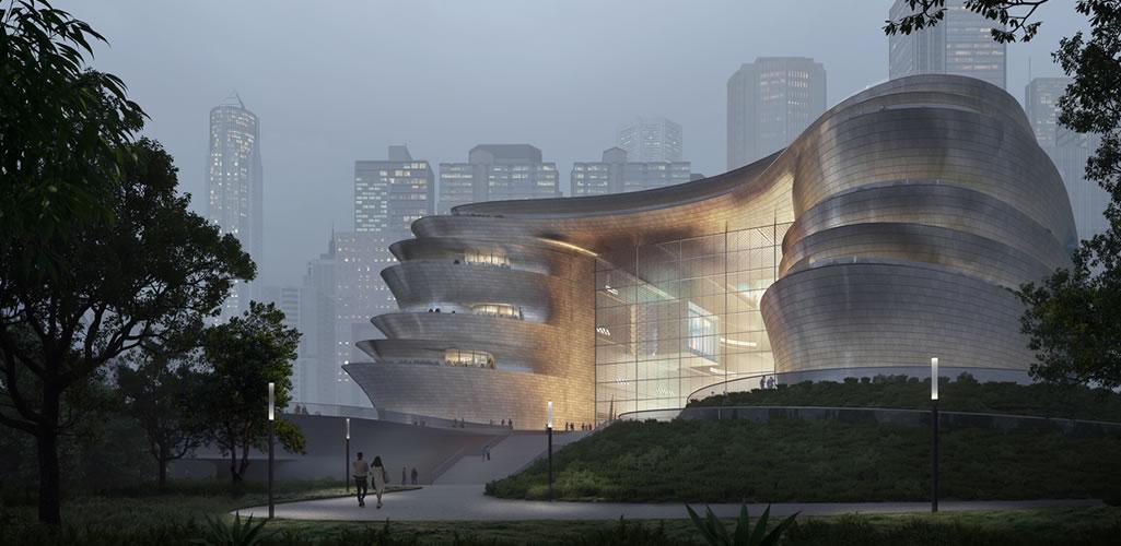 Zaha Hadid Architects presenta el proyecto para el Museo de Ciencia y Tecnología de Shenzhen