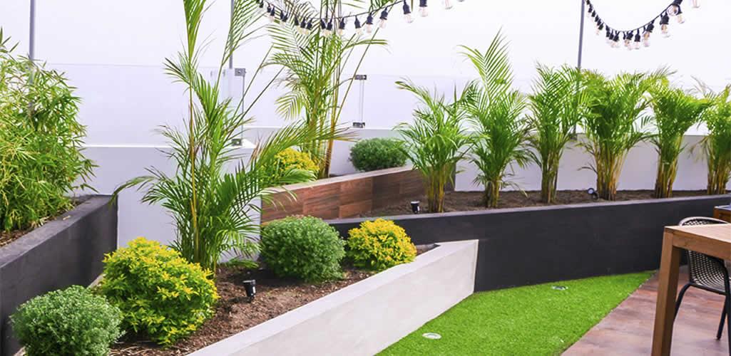 Diseño de jardines en terrazas y balcones