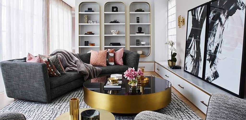 Vitrinas, el mueble-tendencia que nadie vio volver